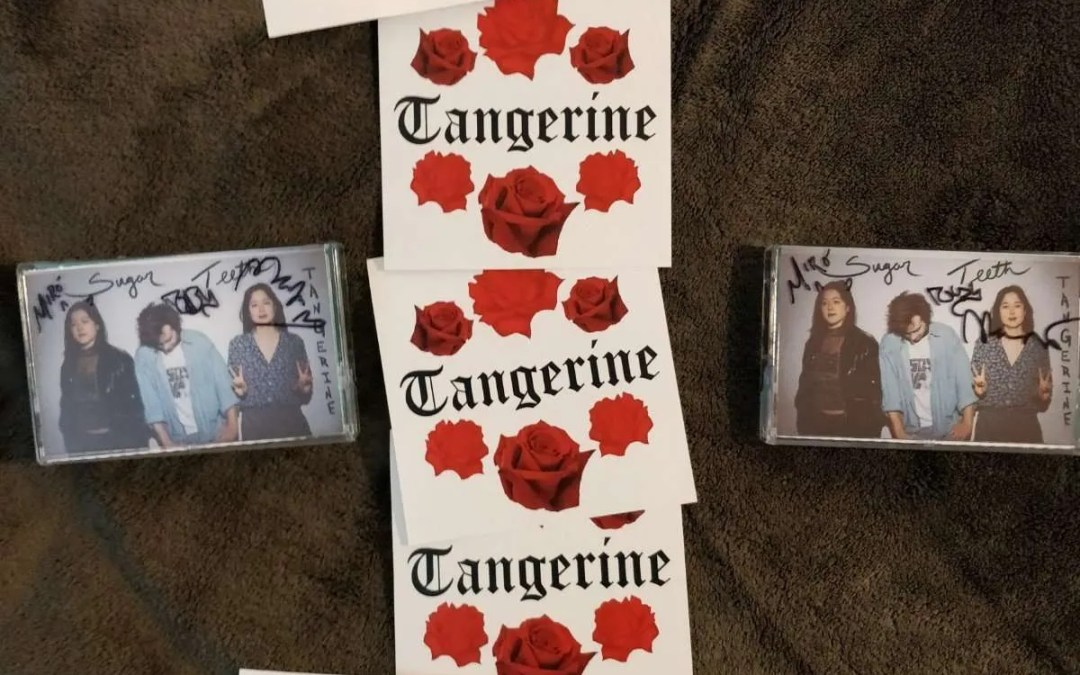 Giveaway #1 : Signed Tangerine Sugar Teeth Cassettes