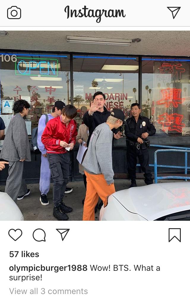 BTS in Los Angeles