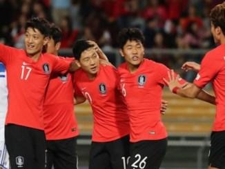 한국, 우즈벡과의 친선 경기에서 우승