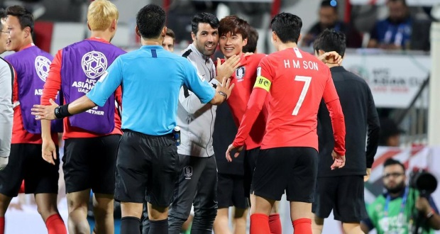 한국 2019 년 아시아 컵 4 강 진출