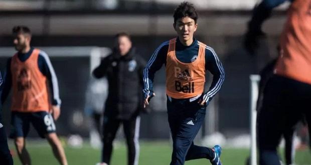 Hwang In-beom is adjusting well with the Whitecaps