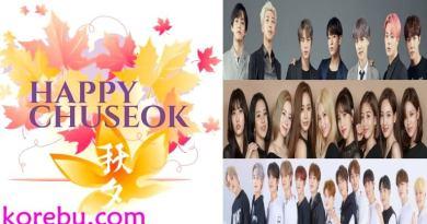 K-Pop İdolleri Chuseok Tatili için Planlarını Açıkladı