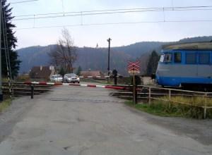 ...auta stojí, vlaky jedou