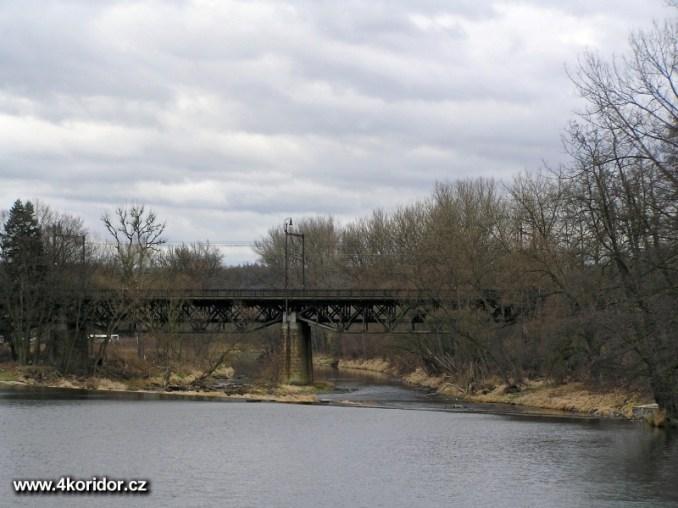 Most Čerčany v lednu 2007