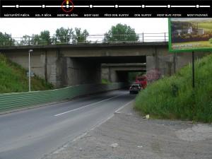 most Mladých Běchovic