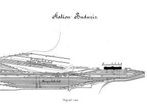 Po přestavbě vzniklo samostatné osobní nádraží, nákladové nádraží a seřaďovací nádraží se spádovištěm tzv. ranžír. Přestavba zasáhla i do budějovické výtopny.