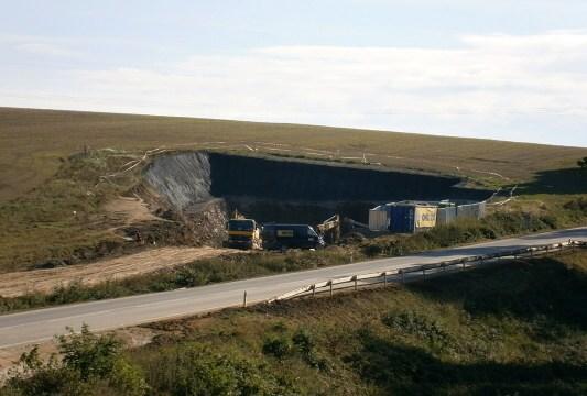 Sudomericky tunel - severni portal - 30.9.2013