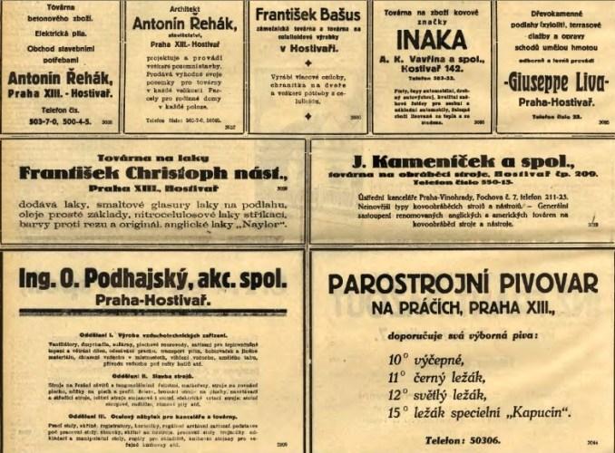 dobové reklamy