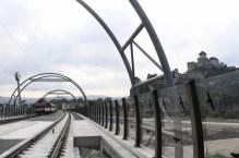 Nový železniční most v Trenčíně Zdroj: TASR/Radovan Stoklasa
