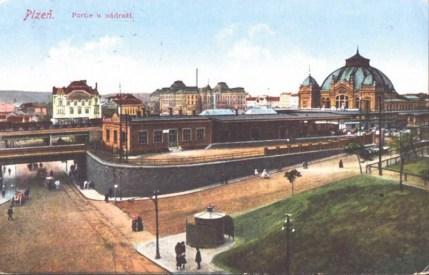 Plzeň Hlavní nádraží - Pozdrav z minulosti