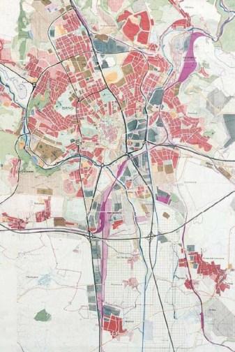 Směrný územní plán města Brna, Útvar hlavního architekta, Zdeněk Kubíček, Zdeněk Chlup, 1968