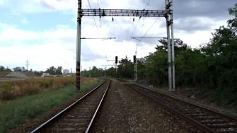 Praha-Vršovice, seřaďovací nádraží 14.8.2018 Cestová návěstidla na spojovacích kolejích ve směru k Řídícímu stavědlu (Autor: mirekk, koridory.cz)