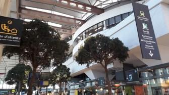 Nádraží Marseille Interiér nádražní budovy (Autor: Luboš Sládek, koridory.cz)