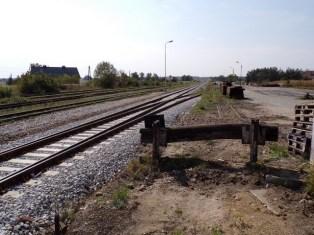 Revitalizace bývalé stanice Komprachcice - září 2018 (zdroj: ostatniafabrykaparowozow.opolskie.art.pl).