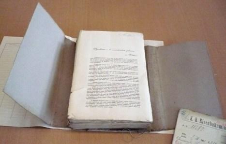 Podepsaných petičních archů je takřka plný karton + pár ukázek otisků razítek a podpisů.