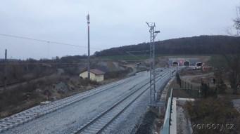 Ejpovice, výjezdové portály tunelů 10.11.2018 (Autor: Luboš Sládek, koridory.cz)