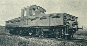 Akumulátorová lokomotiva E 407.001 (Český svět 1926).
