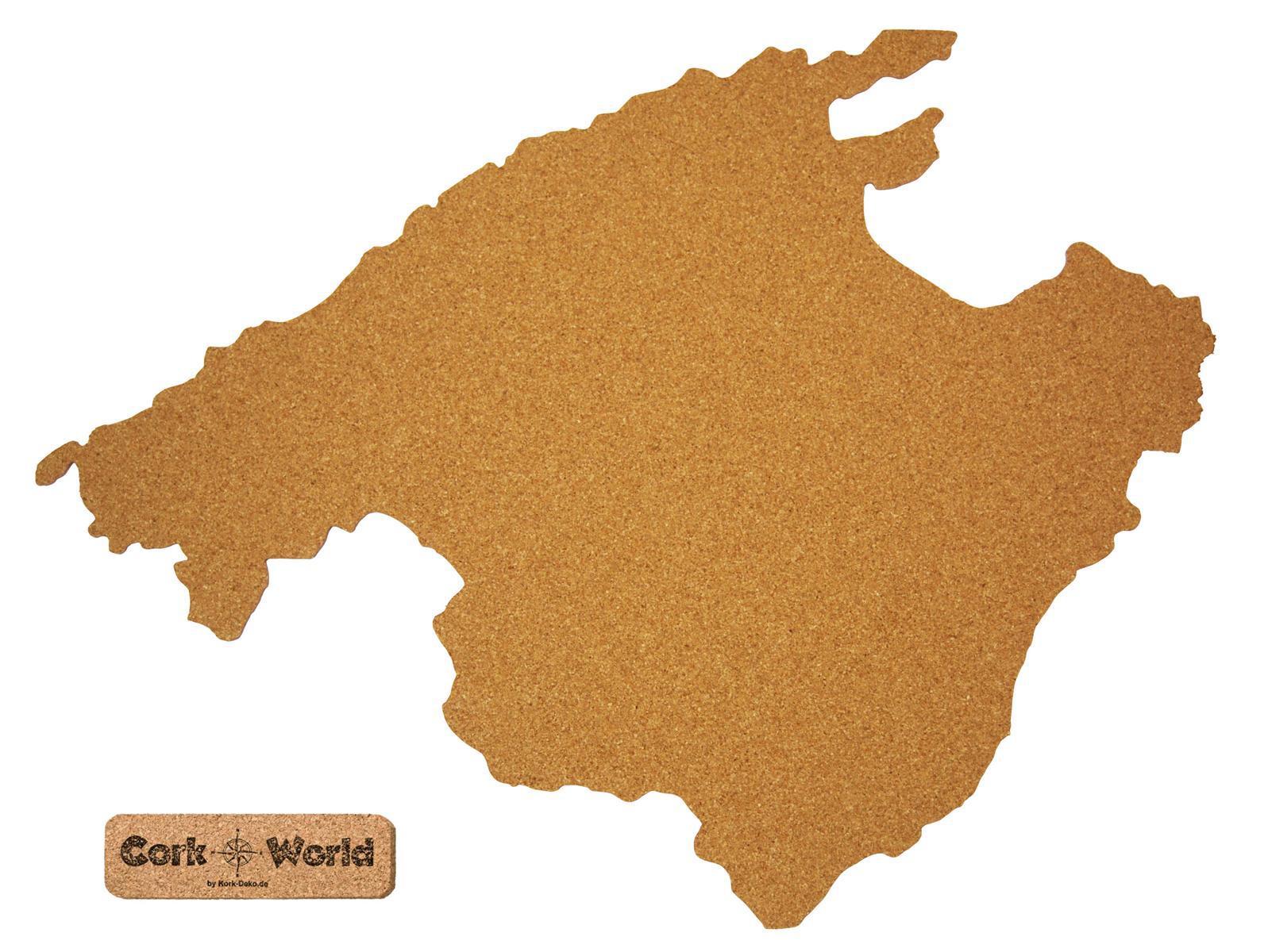 corkworld mallorca als pinnwand aus kork xxl 90x65 cm