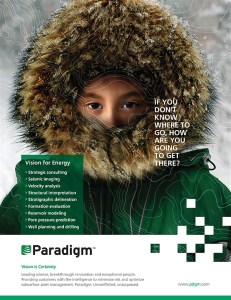 Another print ad developed for Paradigm's branding campaign.