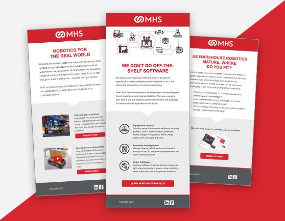 We helped MHS bridge the gap between their lead gen and sales efforts.