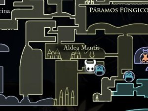 Marca de Orgullo Hollow Knight Localización Mapa