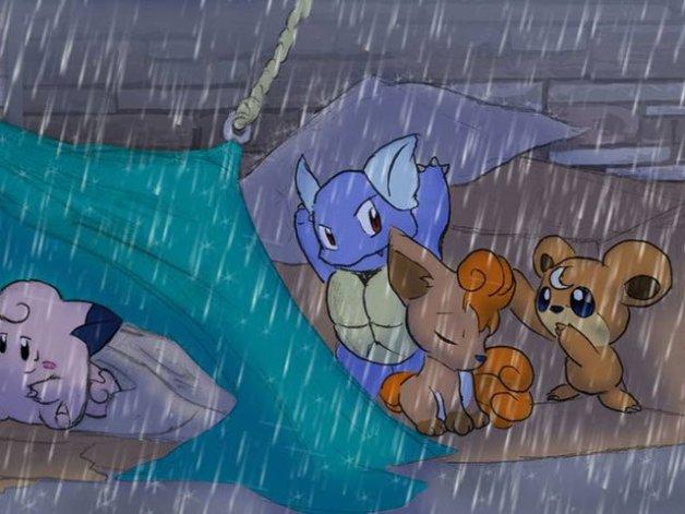 Equipo de Lluvia Pokémon