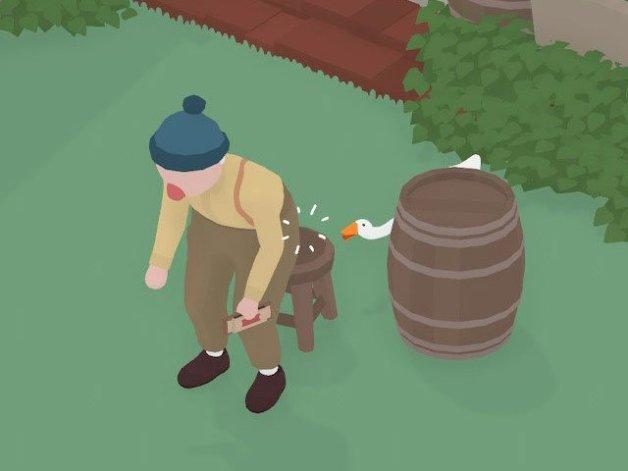Tareas del Bar en Untitled Goose Game