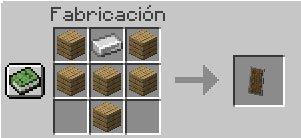 Receta del Escudo de Minecraft