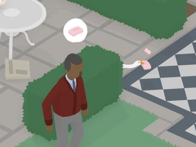 Tareas del Hombre y Mujer Vecinos en Untitled Goose Game