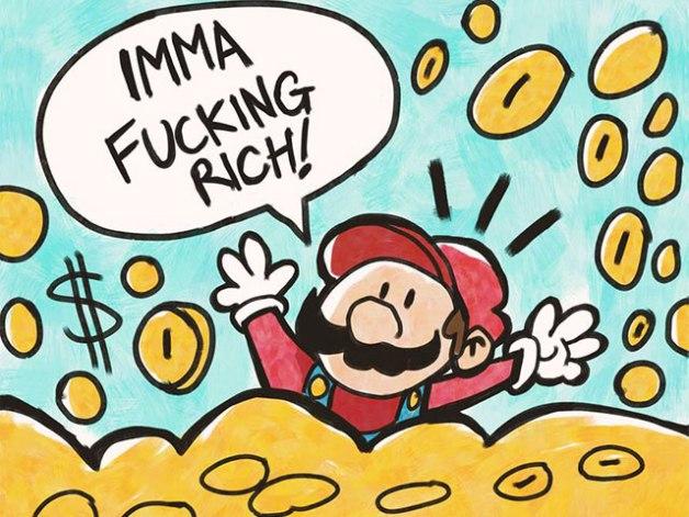 Mario tiene mucho Dinero y es Empresario