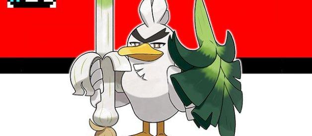 Sirfetch'd en Pokémon Espada y Escudo