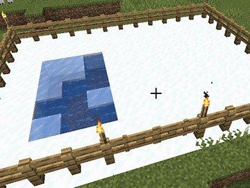 Base del Hogar del Oso Polar en Minecraft