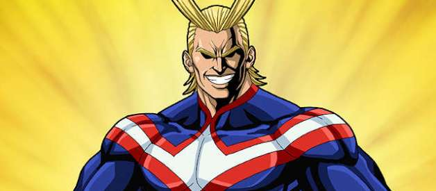 All Might en Boku no Hero Academia