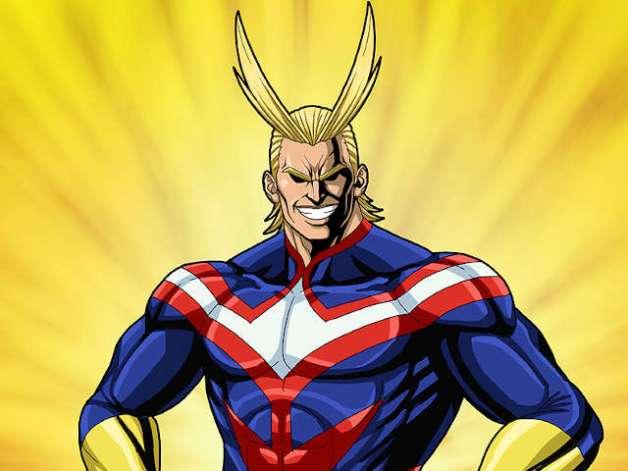 All Might en Boku no Hero Academia