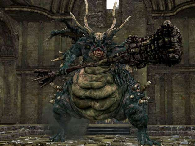 Demonio del Refugio en Dark Souls