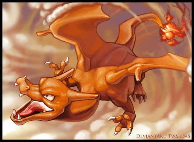 Charizard en Pokémon