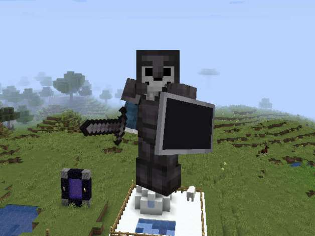 Netherita en Minecraft