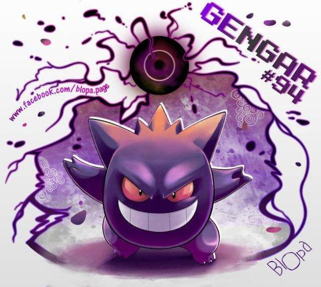 Gengar en Pokémon