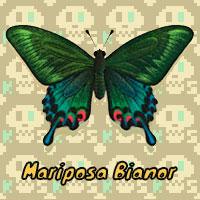 Mariposa Bianor en Animal Crossing New Horizons