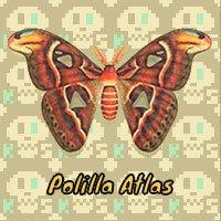 Polilla Atlas en Animal Crossing New Horizons