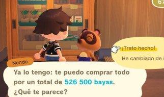 Cómo forrarte en Animal Crossing New Horizons