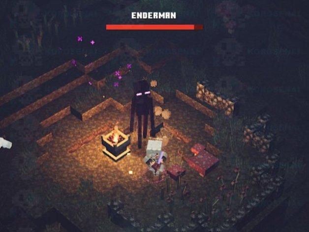 Enderman en Minecraft Dungeons