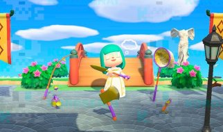 Herramientas de Oro en Animal Crossing New Horizons