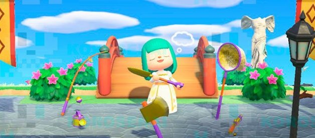 Herramientas de Oro en Animal Crossing New Horizons
