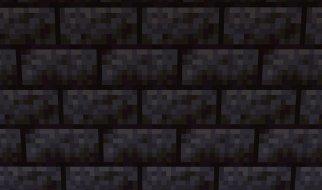 Roca o Piedra Negra en Minecraft