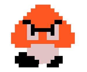 Goomba en Super Mario Bros