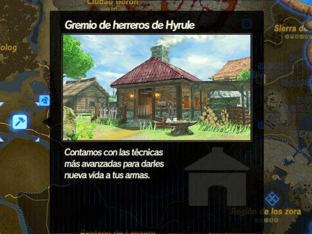 Fusión y mejora de Armas en Hyrule Warriors la Era del Cataclismo