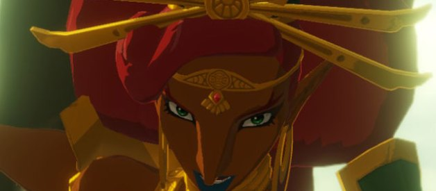 Urbosa en Hyrule Warriors la Era del Cataclismo