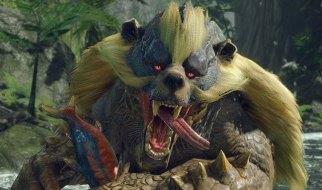 Arzuros en Monster Hunter Rise