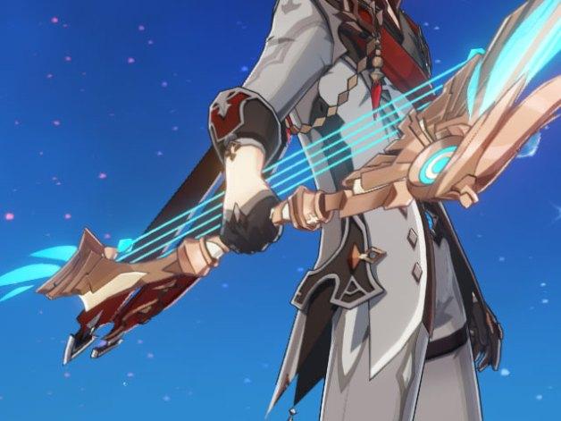 Alas Celestiales en Genshin Impact